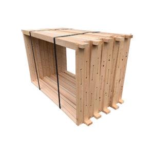 Dadant modifiziert Rähmchen 10er Pack mit Hofmann-Seiten für Dadantbeuten Imker Imkerei Bienen.