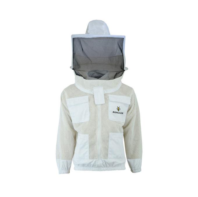 Imkeranzug Premium mit Atmungsnetz für Erwachsene und Imkerei schützt vor Insektenstichen.