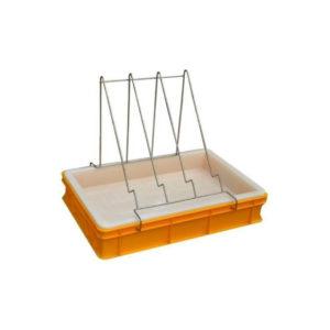 Entdeckelungswanne aus Kunststoff 100mm zum entdeckeln von Honig Waben Entdeckelung Imkerei Rähmchen.