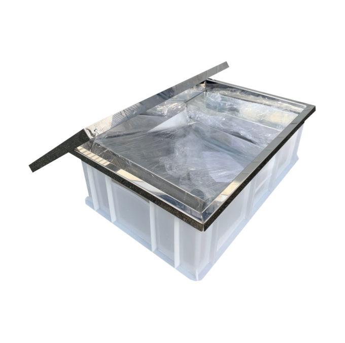 Sonnenwachsschmelzer aus Kunststoff zum abschmelzen von Rähmchen Imkerei.