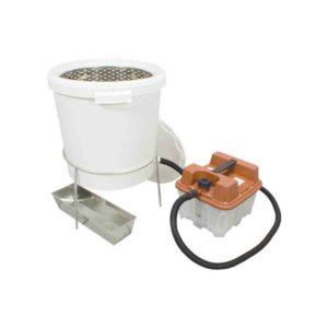 Wachsschmelzer mit Elektroantrieb zum schmelzen von Bienenwachs Wachs Schmelzer von Rähmchen Imkerei.