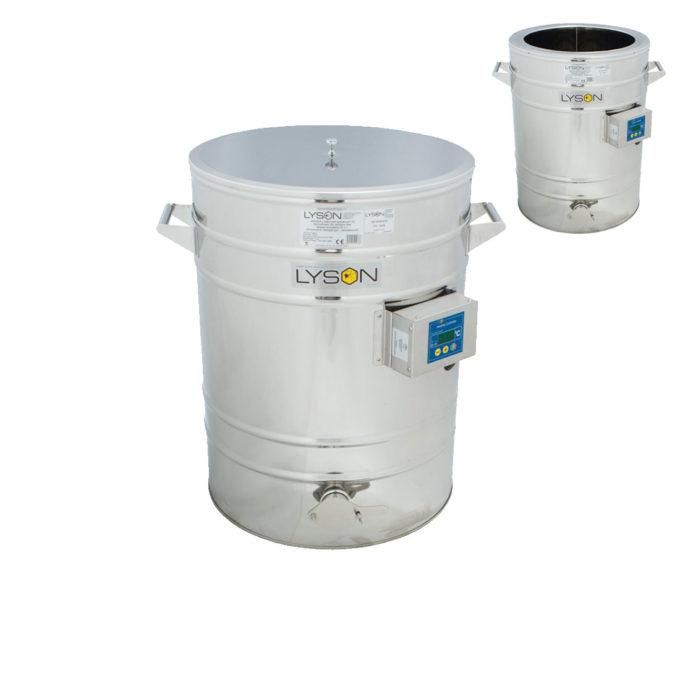 Rostfreier Absatzbehälter mit Heizmantel 70 Liter Edelstahl
