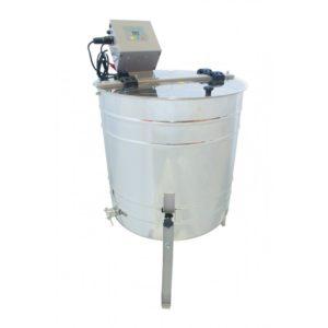 4 Waben Honigschleuder mit Elektroantrieb und Batterieanschluß