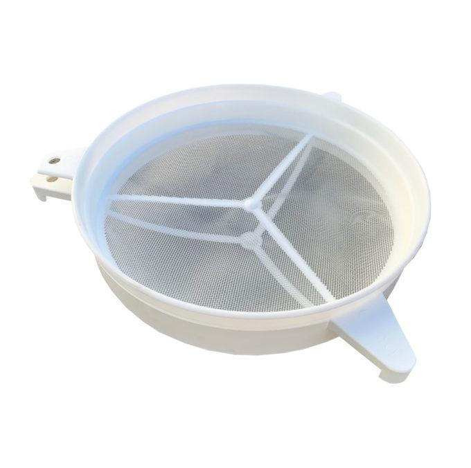 Nylon Doppelsieb Honig Filter Wachs Honig Imkerei