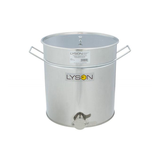 Abfüllbehälter Abfüller aus Edelstahl rostfrei zum Honig abfüllen 50 Liter 70 KG