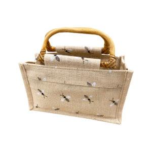 Geschenktasche für Honiggläser 500gr. Tasche Geschenk Gläser Imkerei Bienen